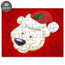 Christmas polar bear Puzzle