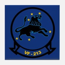 F-14 Tomcat VF-213 Black Lion Tile Coaster
