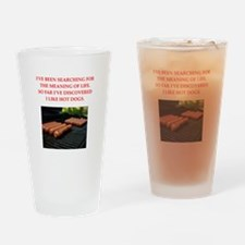 hot dogs Drinking Glass