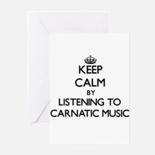 Keep calm by listening to CARNATIC MUSIC Greeting