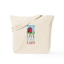 Live Love Farm Tote Bag