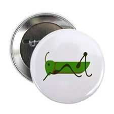 "Cricket Grasshopper 2.25"" Button"