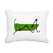 Cricket Grasshopper Rectangular Canvas Pillow