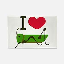 I Love Grasshopper Magnets