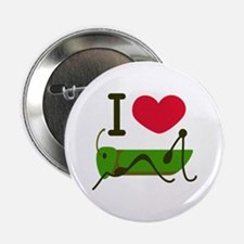 """I Love Grasshopper 2.25"""" Button"""