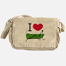 I Love Grasshopper Messenger Bag