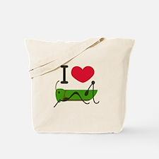 I Love Grasshopper Tote Bag