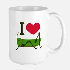 I Love Grasshopper Mugs
