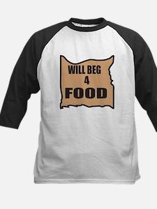 Will Beg 4 Food Tee