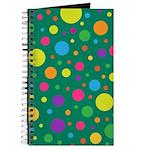 Polka Dots Rainbow Journal