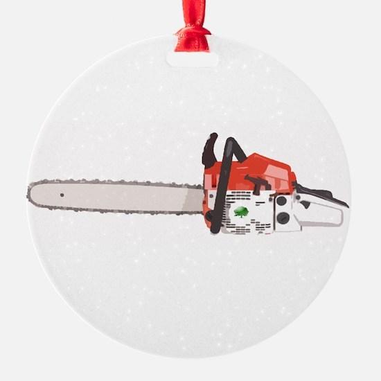 Cute Chainsaw Ornament