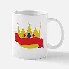 King Crown Ribbbon Mugs