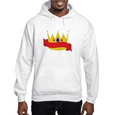 King Crown Ribbbon Hoodie