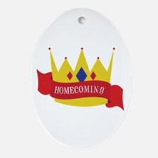 Homecoming Ornament (Oval)