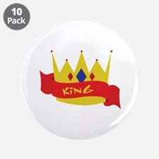 """King 3.5"""" Button (10 pack)"""
