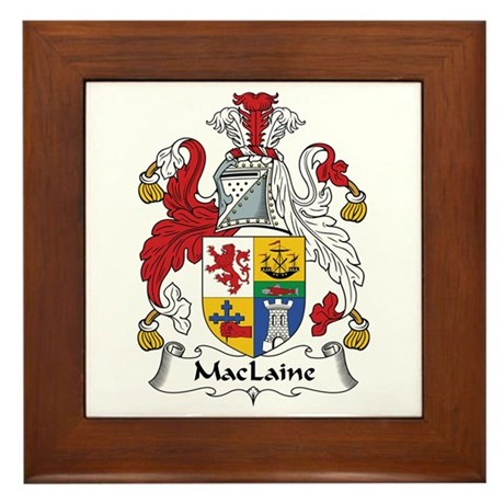 MacLaine (of Lochbuie) Framed Tile