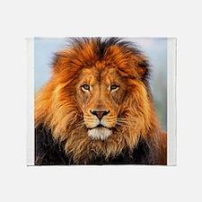 Cute Lion Throw Blanket