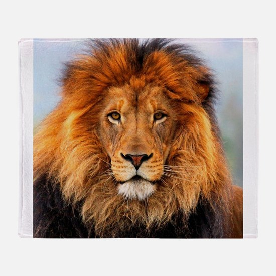 Cute Lioness Throw Blanket