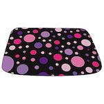 Polka Dot Pink Bathmat