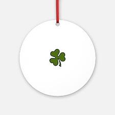 Three Leaf Clover Ornament (Round)