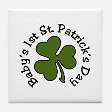 1st St Patrick Tile Coaster