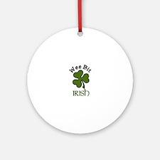 Wee Bit Irish Ornament (Round)