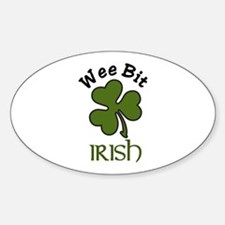 Wee Bit Irish Decal