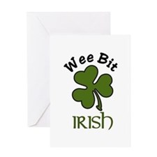 Wee Bit Irish Greeting Cards