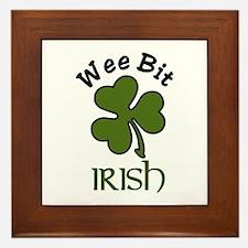 Wee Bit Irish Framed Tile