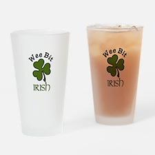 Wee Bit Irish Drinking Glass
