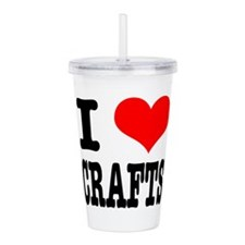 CRAFTS.png Acrylic Double-wall Tumbler