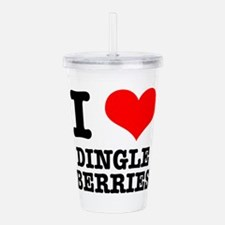 DINGLE BERRIES.png Acrylic Double-wall Tumbler