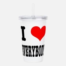 EVERYBODY.png Acrylic Double-wall Tumbler