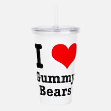 gummy bears.png Acrylic Double-wall Tumbler