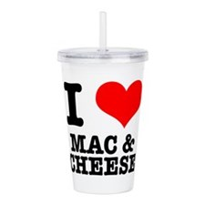 MAC CHEESE.png Acrylic Double-wall Tumbler