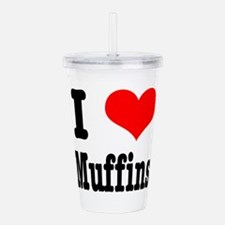 muffins.png Acrylic Double-wall Tumbler