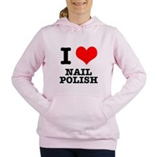 nail polish.png Women's Hooded Sweatshirt