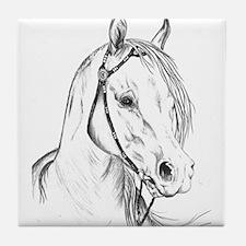"Arabian Portrait ""Gee Gorgeou Tile Coaster"