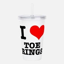 TOE RINGS.png Acrylic Double-wall Tumbler