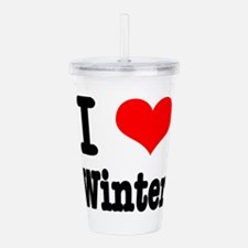 winter.png Acrylic Double-wall Tumbler