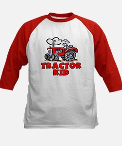 Red Tractor Kid Tee