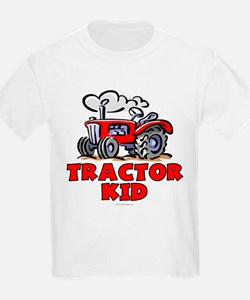 Red Tractor Kid T-Shirt