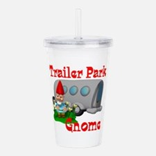 trailer park gnome.png Acrylic Double-wall Tumbler