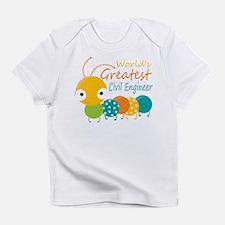 World's Greatest Civil Engineer Infant T-Shirt