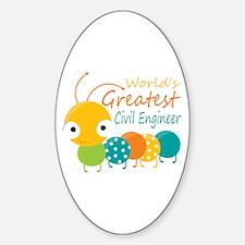 World's Greatest Civil Engineer Decal