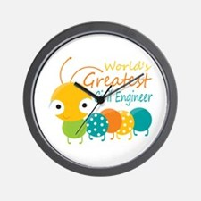 World's Greatest Civil Engineer Wall Clock