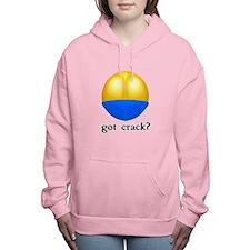 got crack.png Women's Hooded Sweatshirt