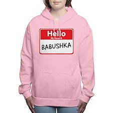 babushka.png Women's Hooded Sweatshirt