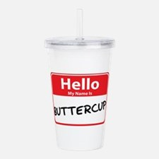 buttercup.png Acrylic Double-wall Tumbler