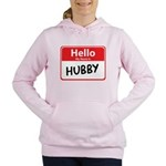 hubby.png Women's Hooded Sweatshirt